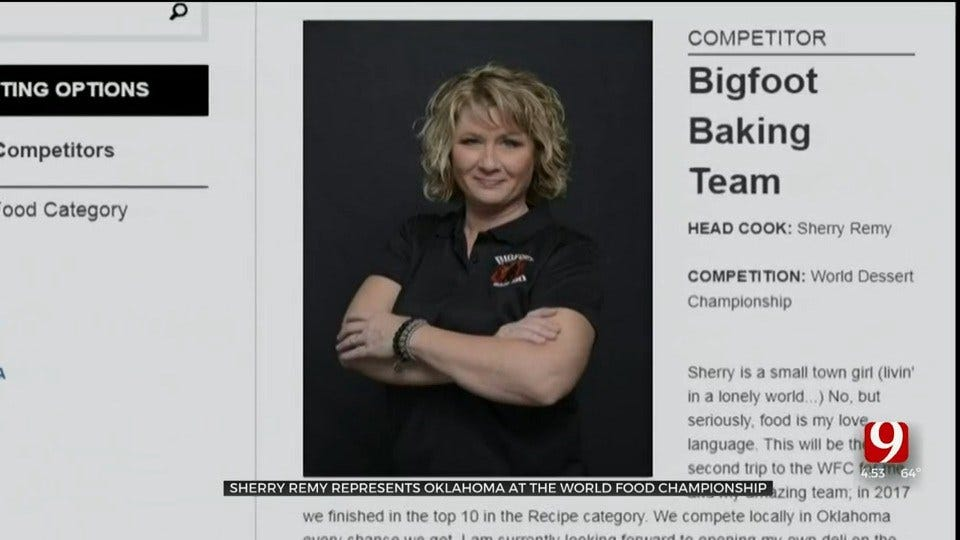 Oklahoma Woman To Represent The State At The World Food Championship
