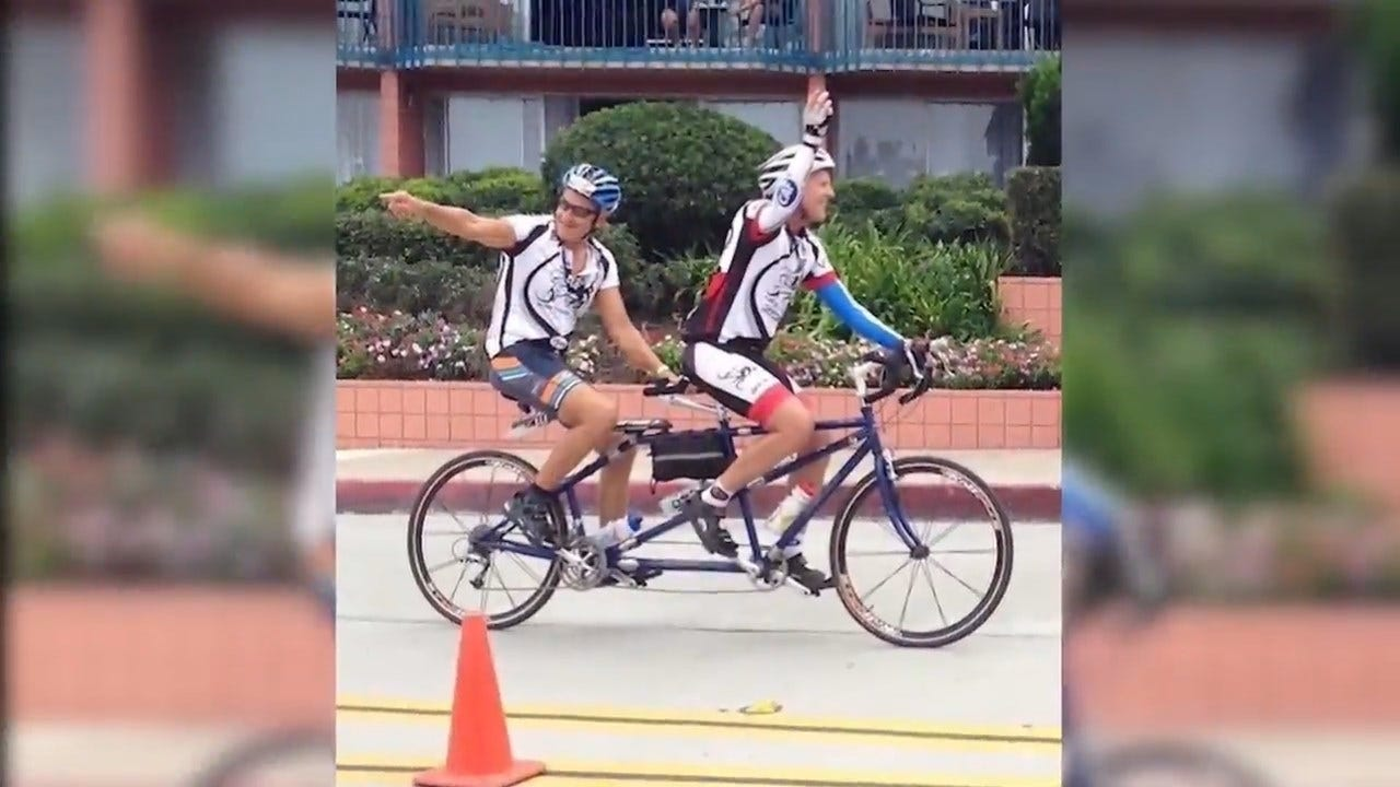 Group Brings Joy Of Cycling To Blind, Visually Impaired