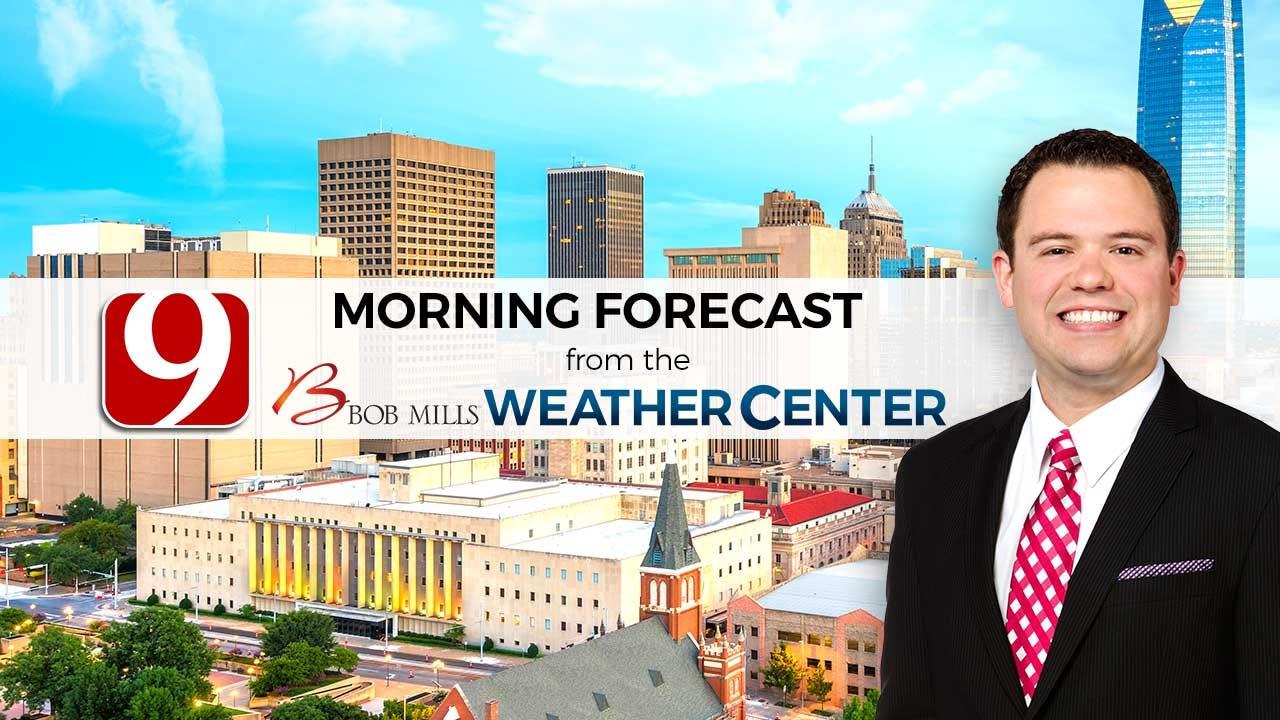 Matt's Monday Morning Bus Stop Forecast