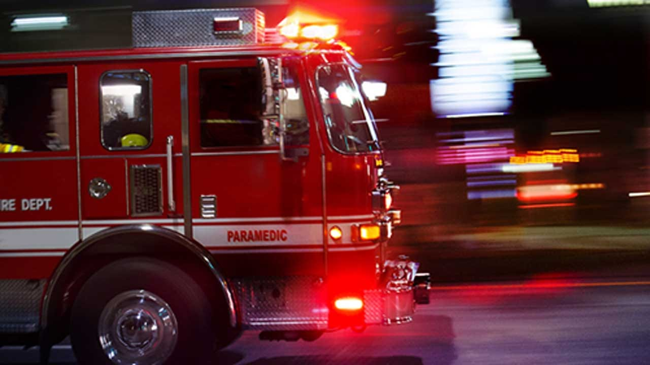 Latimer County Firefighter Hit By Bullet Set Off By House Fire