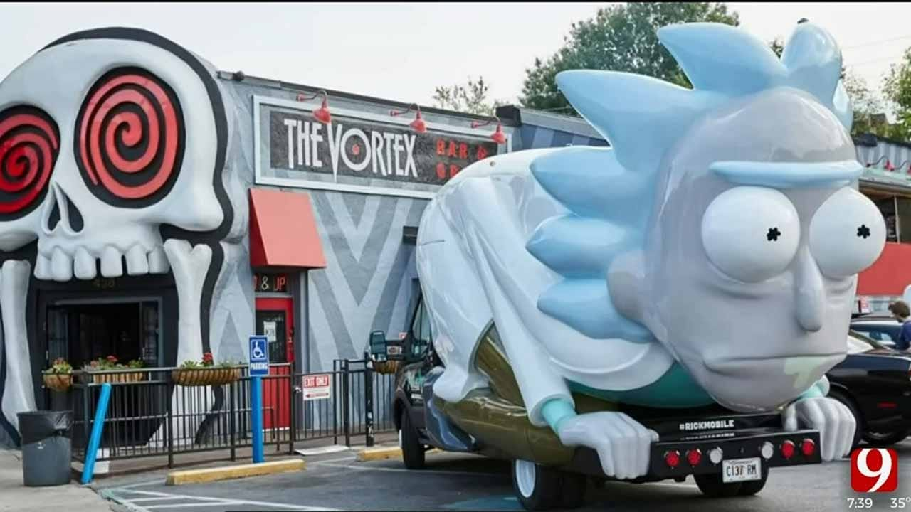 OKC Zoo Hosting Special Date Night Featuring 'Rick And Morty' Rickmobile