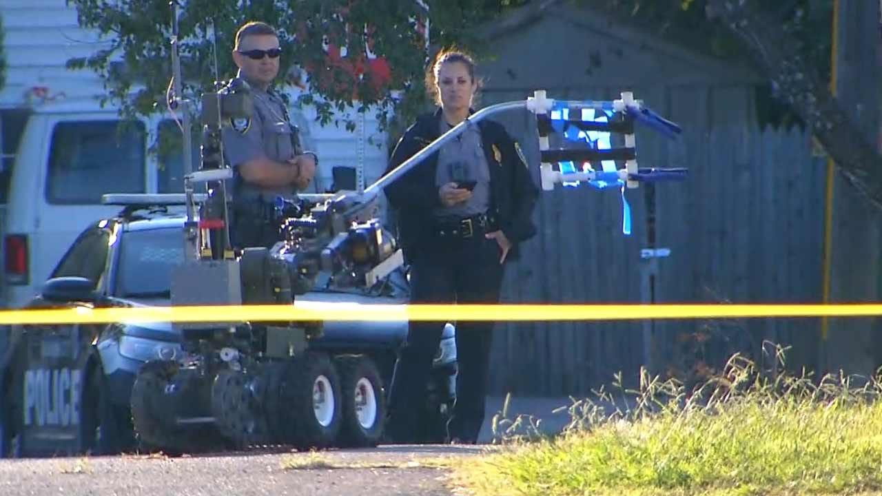 Grenade Found In Southwest Oklahoma City
