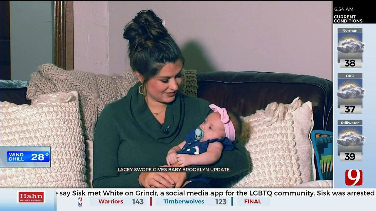 Lacey Swope Gives A Baby Brooklyn Update