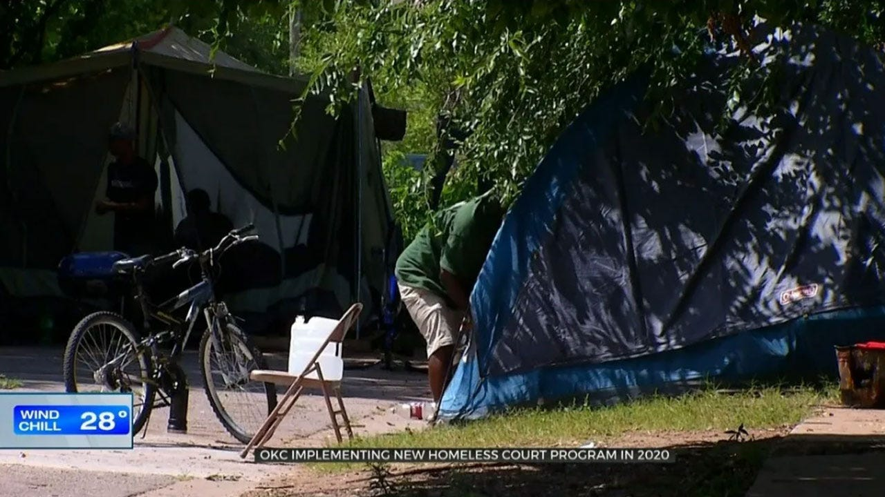 OKC Officials Eye Homeless Court To meet Crimes Of Homelessness With Compassion