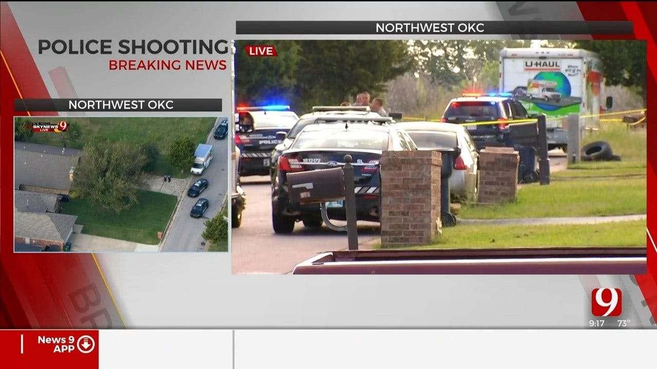 Authorities Investigate Deadly Officer-Involved Shooting In NW OKC