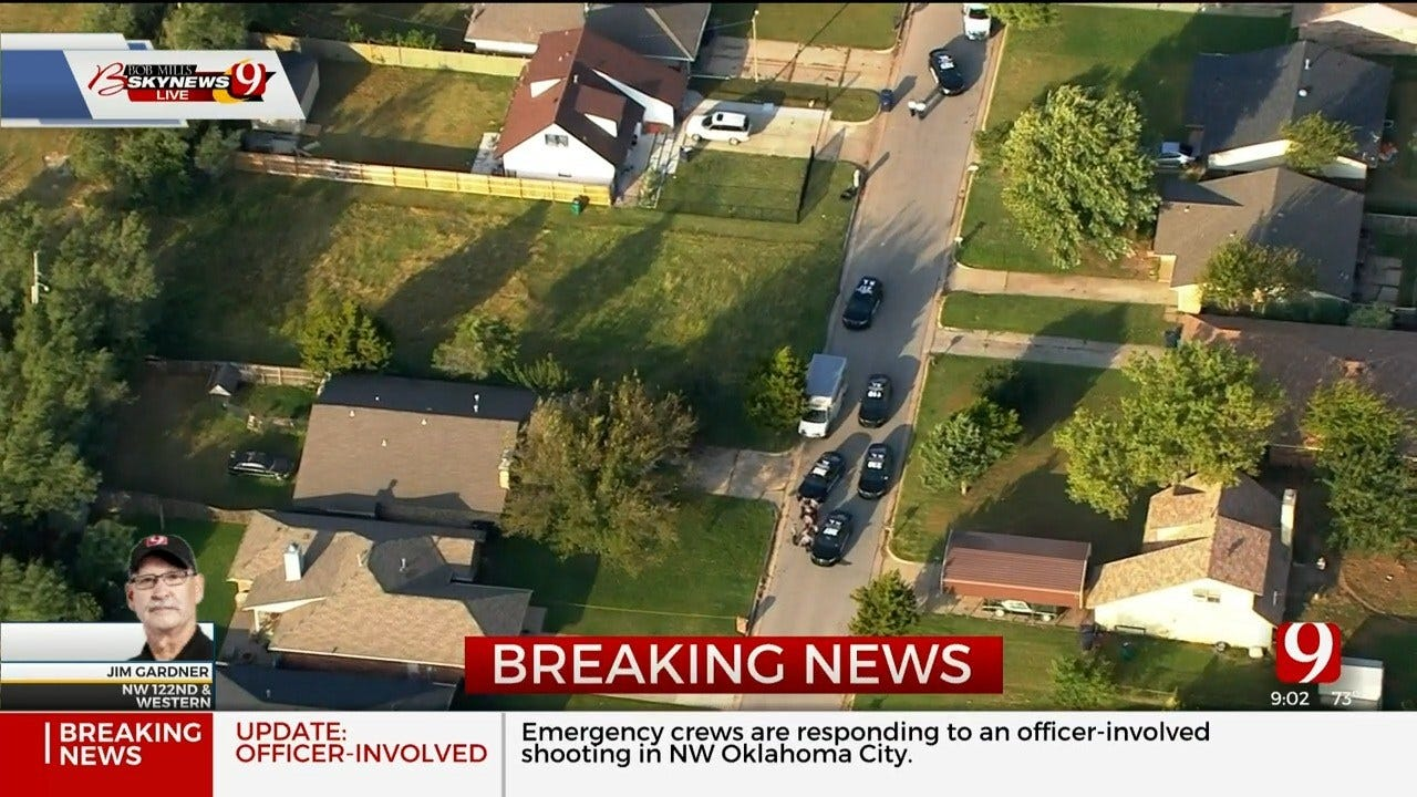 Police Respond To Officer-Involved Shooting In NW OKC