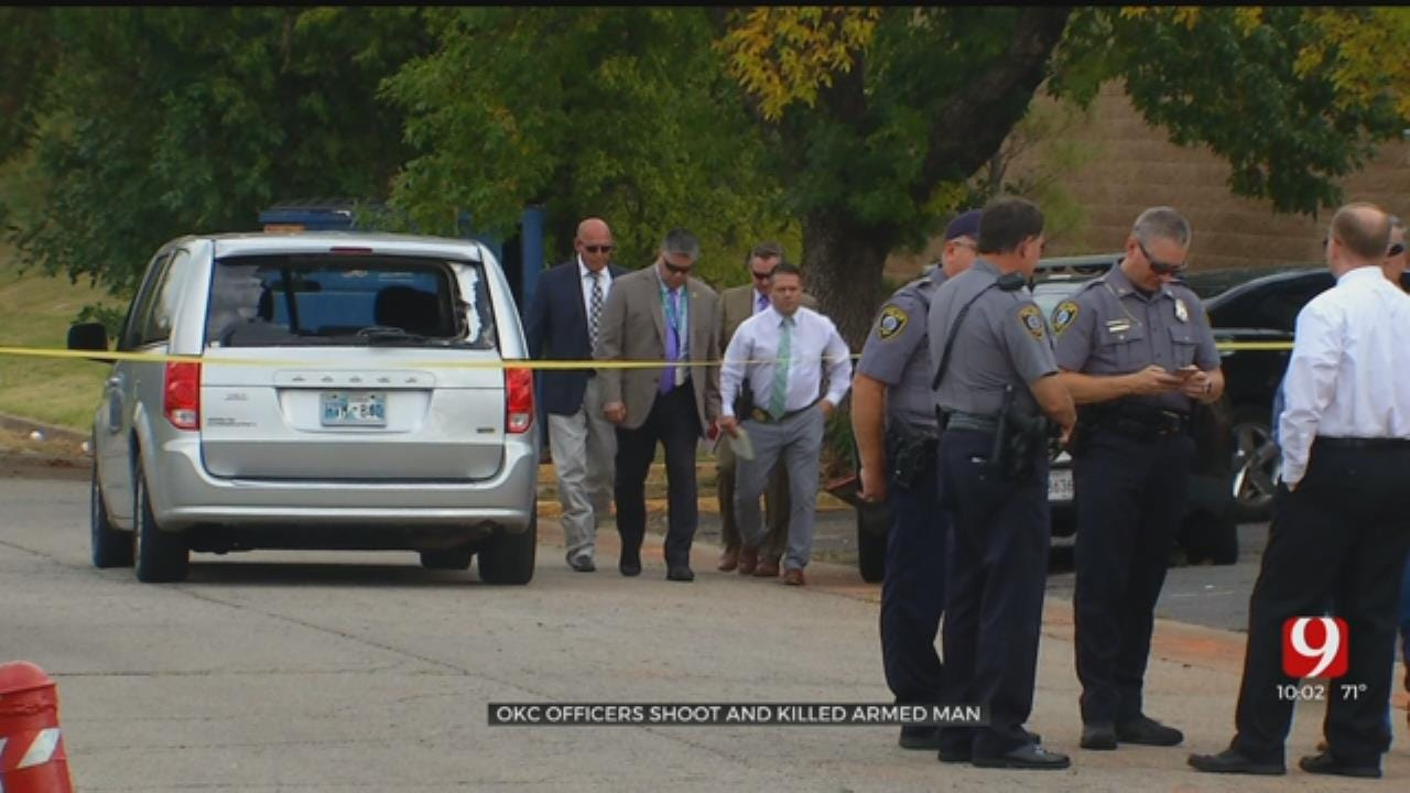 Police: Armed Man Killed In Officer-Involved Shooting At NW OKC Apartment Complex
