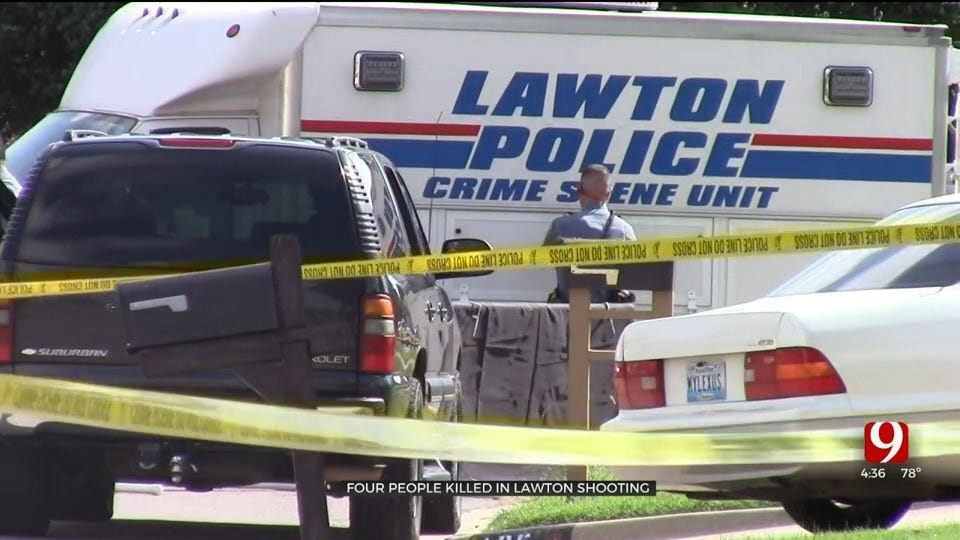 4 Dead In Lawton After Dad Kills Kids, Their Mom, Himself