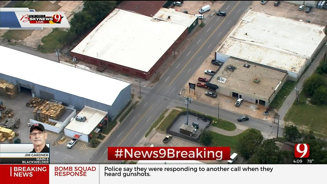 Police Investigate Suspicious Package Near Downtown OKC