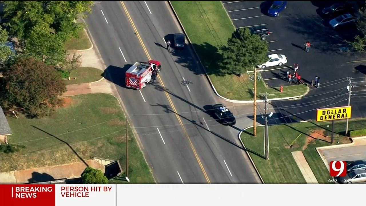 1 Taken To Hospital After Auto-Pedestrian Crash In SE OKC