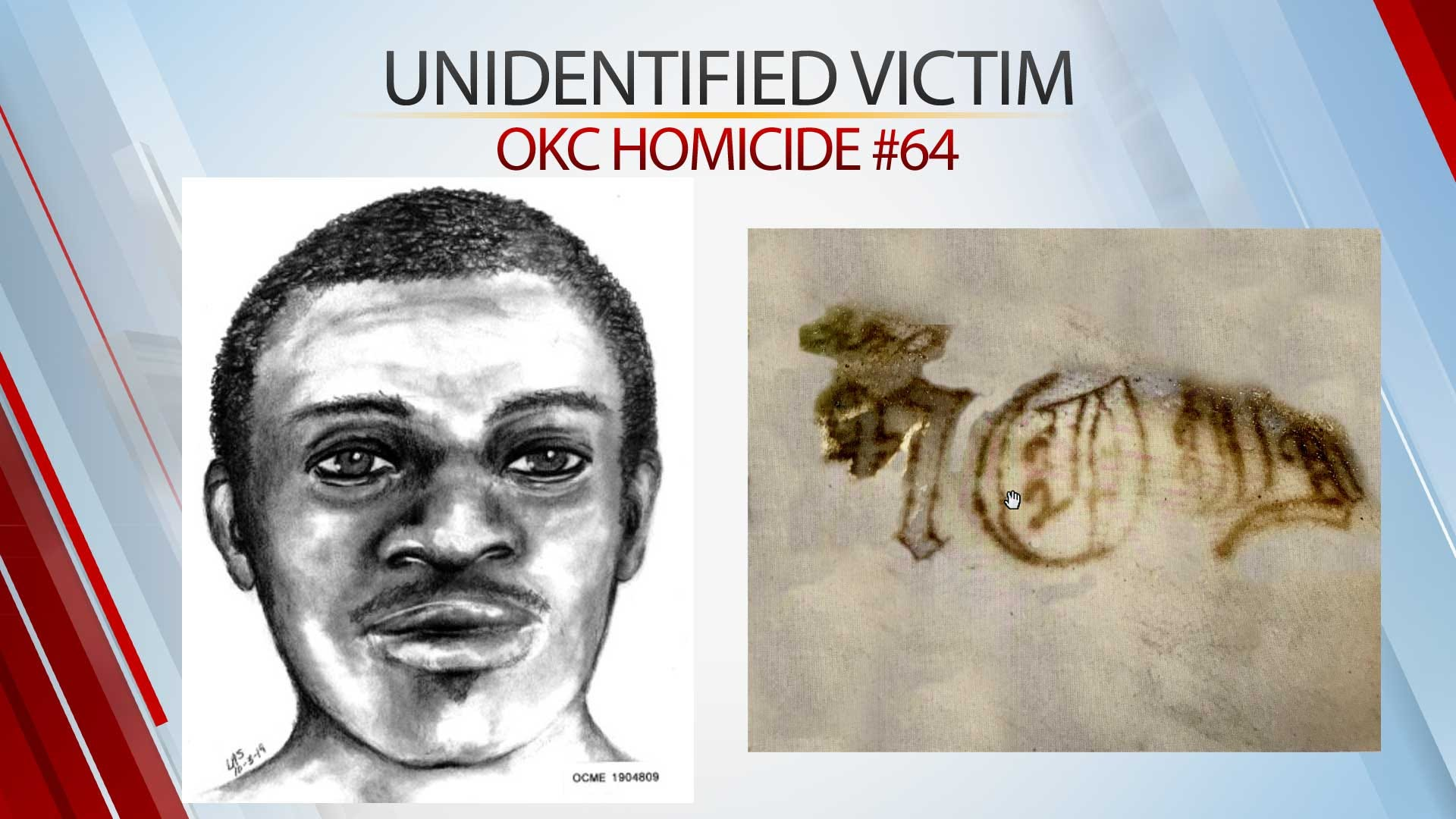 Police Asking For Help Identifying Man Found Dead On A Burned Couch In NE OKC Field