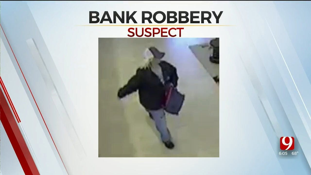FBI Seeking Information In Shawnee Bank Robbery