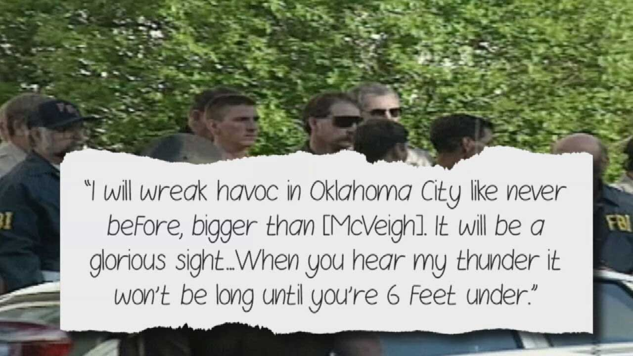 'I Will Wreak Havoc In Oklahoma City': Teen Charged With Planning Act Of Violence After Journal, Hit List Discovered
