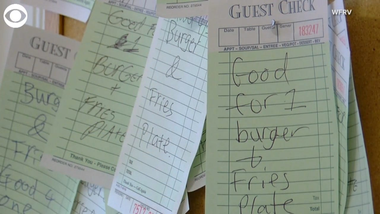 Customers In This Cafe Pay It Forward To Help Feed The Hungry