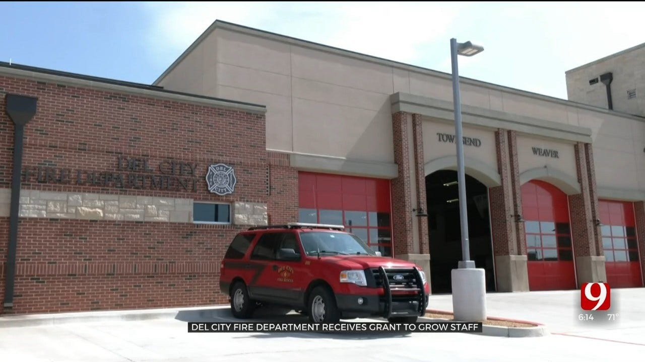 Del City Fire Department Receives Grant, Will Hire 2 More Firefighters