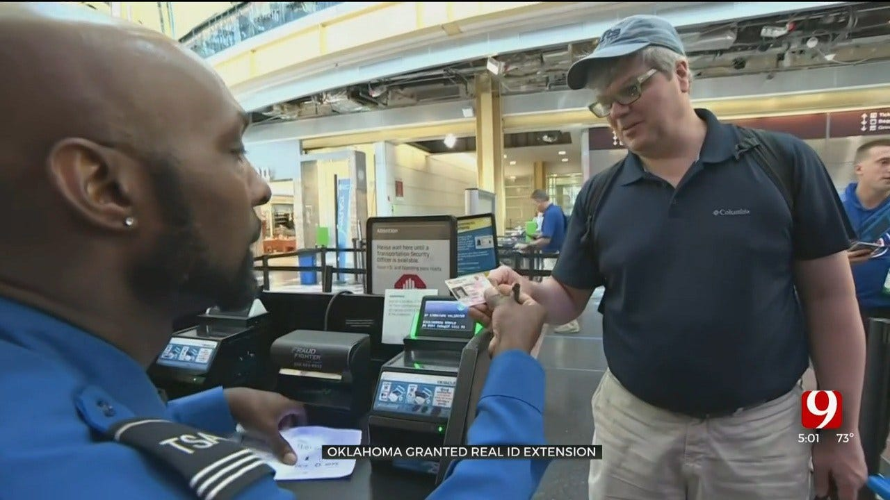 Oklahoma Receives REAL ID Extension, Officials Say