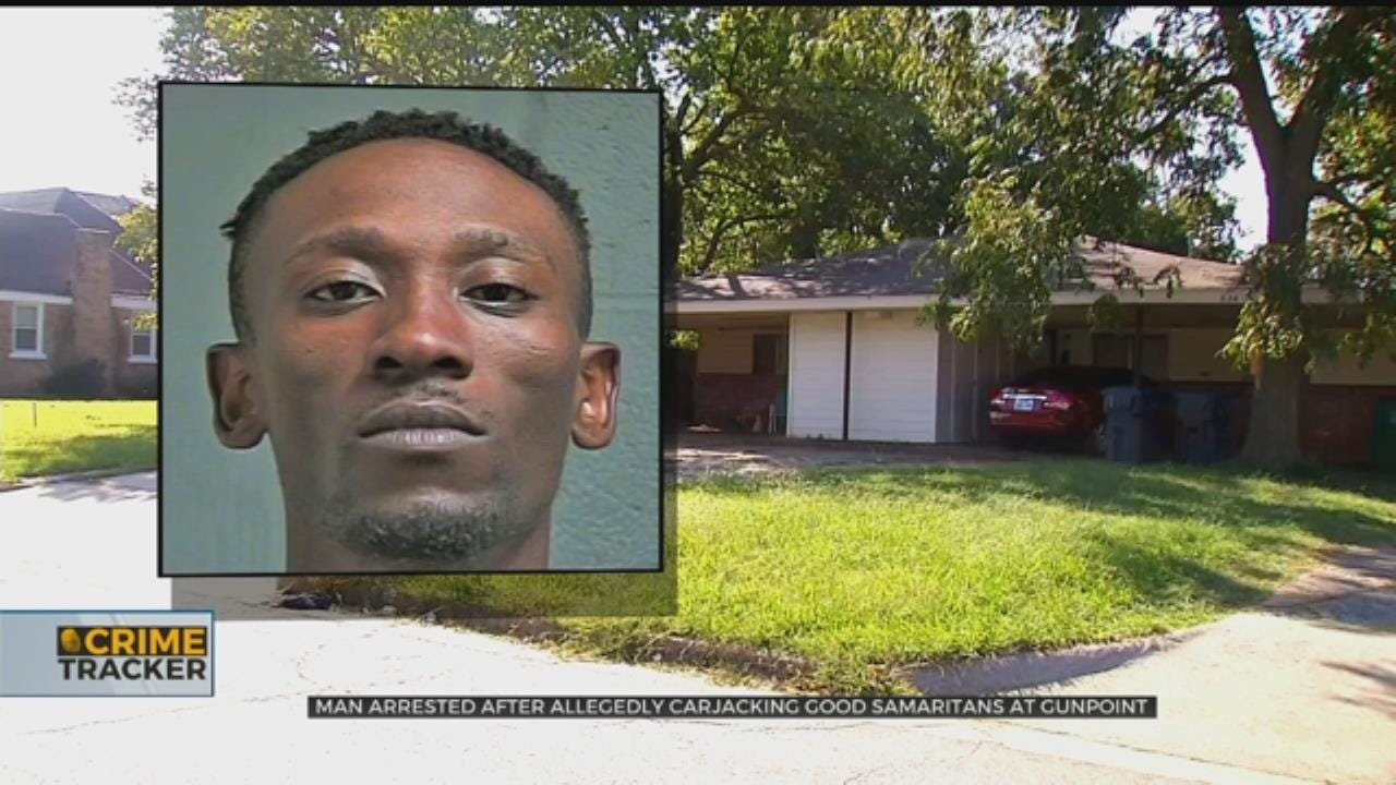 OKC Man Arrested After Allegedly Carjacking, Kidnapping Good Samaritans