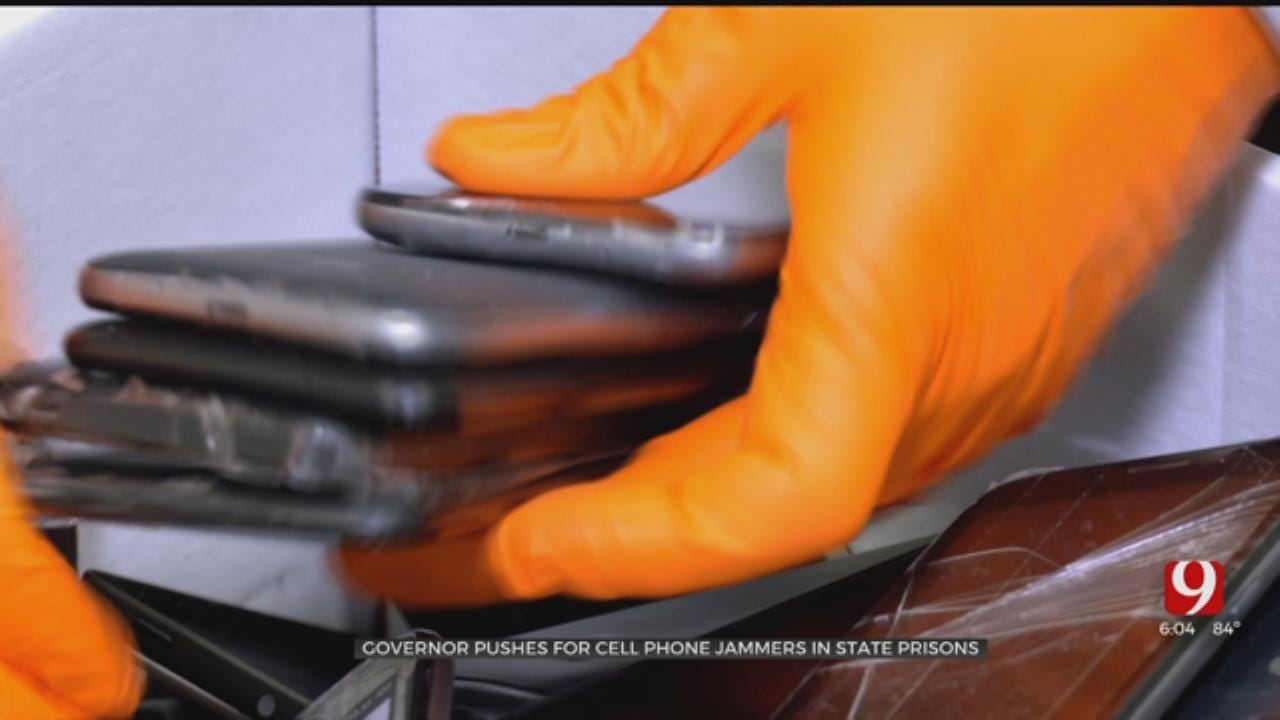 Governor Stitt Pushes For Cellphone Jammers, Locators To Curb Contraband Problem