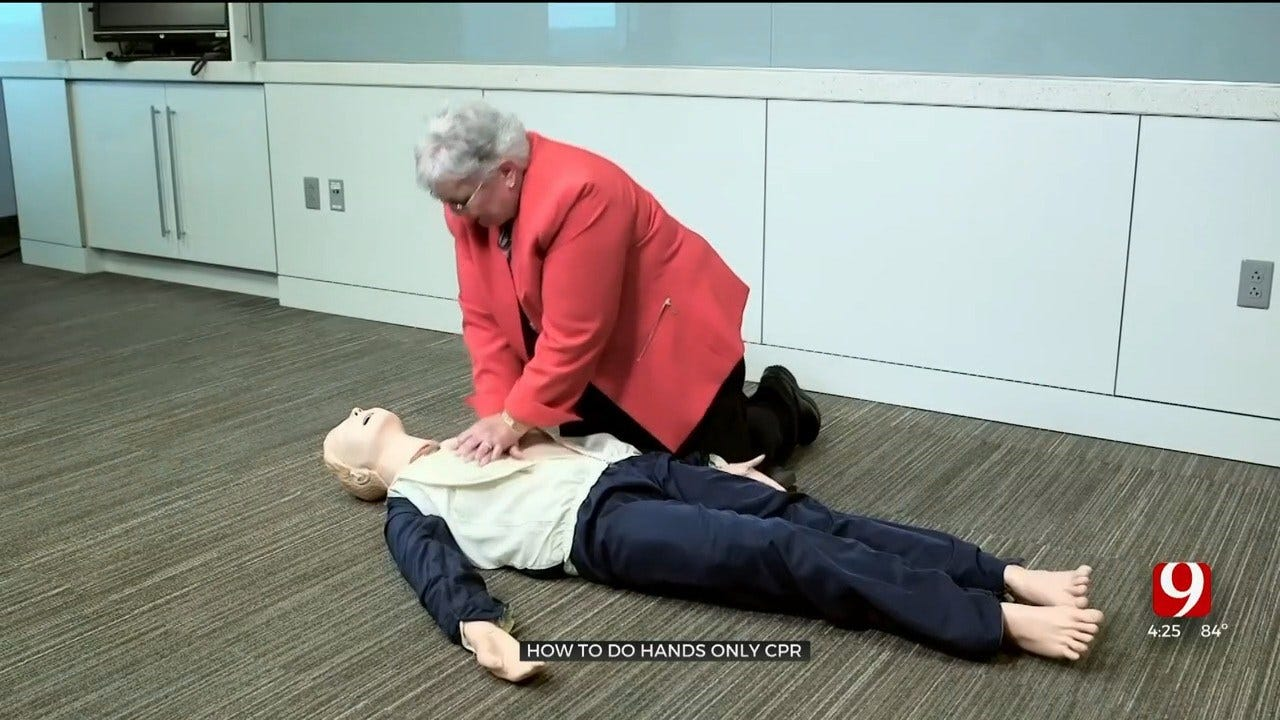 Medical Minute: How To Perform Hands-Only CPR