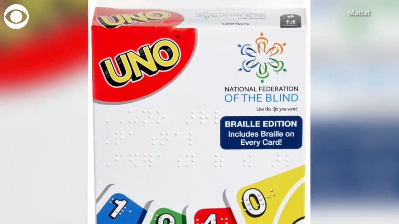 UNO Unveils First-Ever Braille Edition Deck