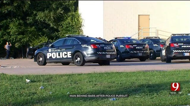 Armed Suspect In Custody After NE OKC Pursuit