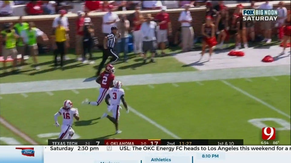 Dean Blevins On Sooners 55-16 Win Against Texas Tech