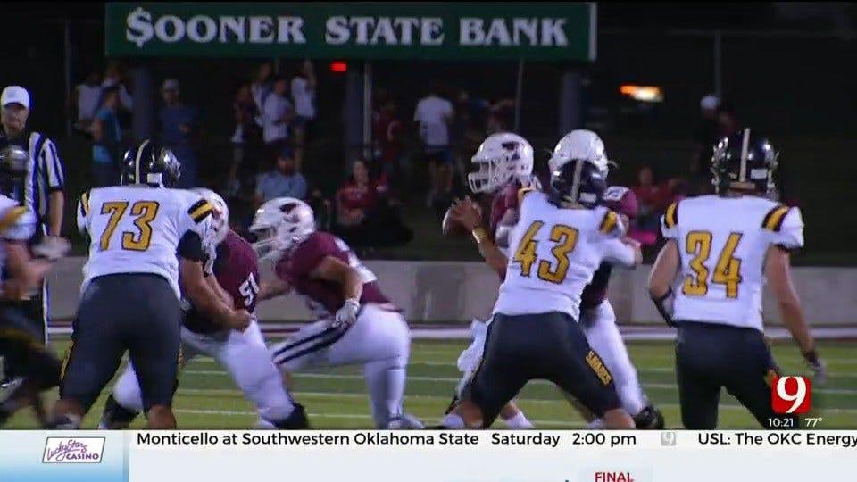High School Football Roundup: Tecumseh Vs. Tuttle
