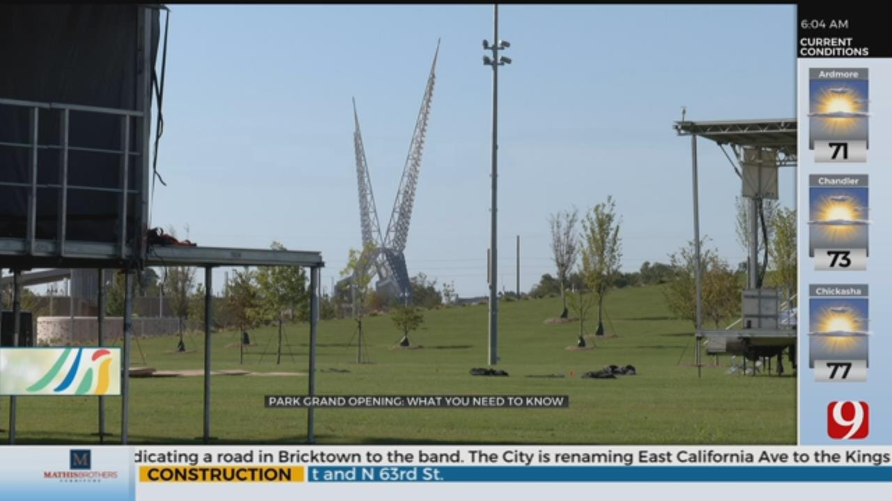 Scissortail Park Grand Opening: What You Need To Know