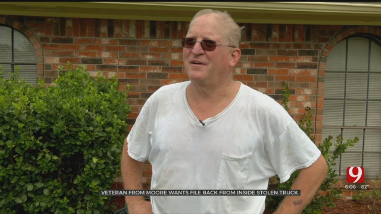 Moore Disabled Veteran's Truck Stolen With VA Files Inside