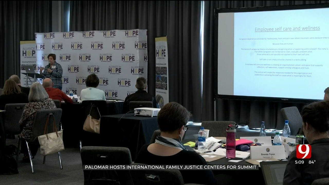 Palomar Hosts Other Family Justice Center Leaders For International Summit In OKC
