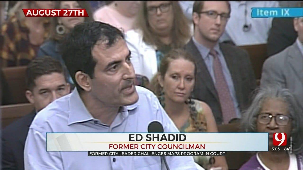 Former City Councilman Files Lawsuit Over OKC MAPS Program