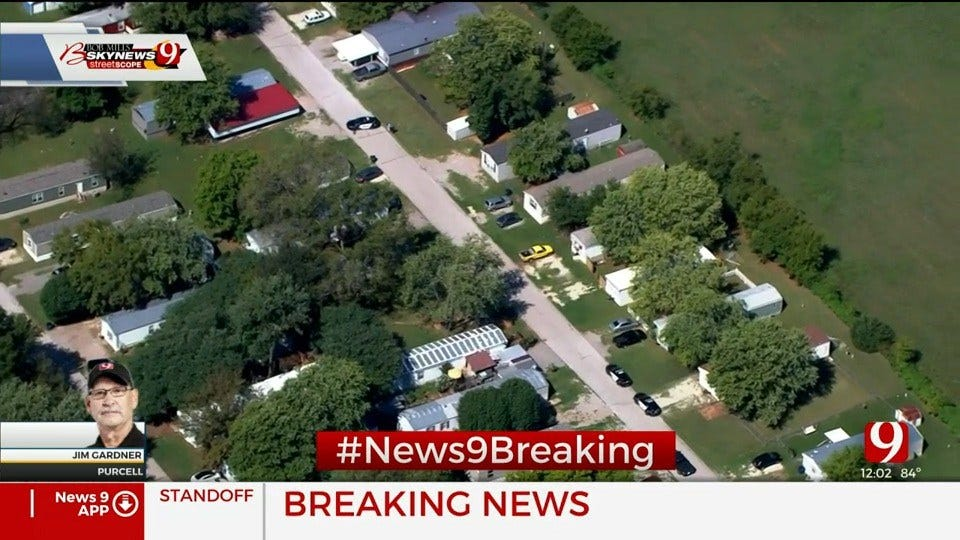 Authorities Involved In Standoff In Purcell