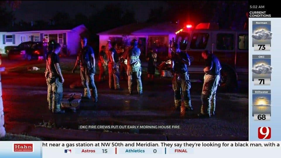 Firefighters Knock Down SE OKC House Fire