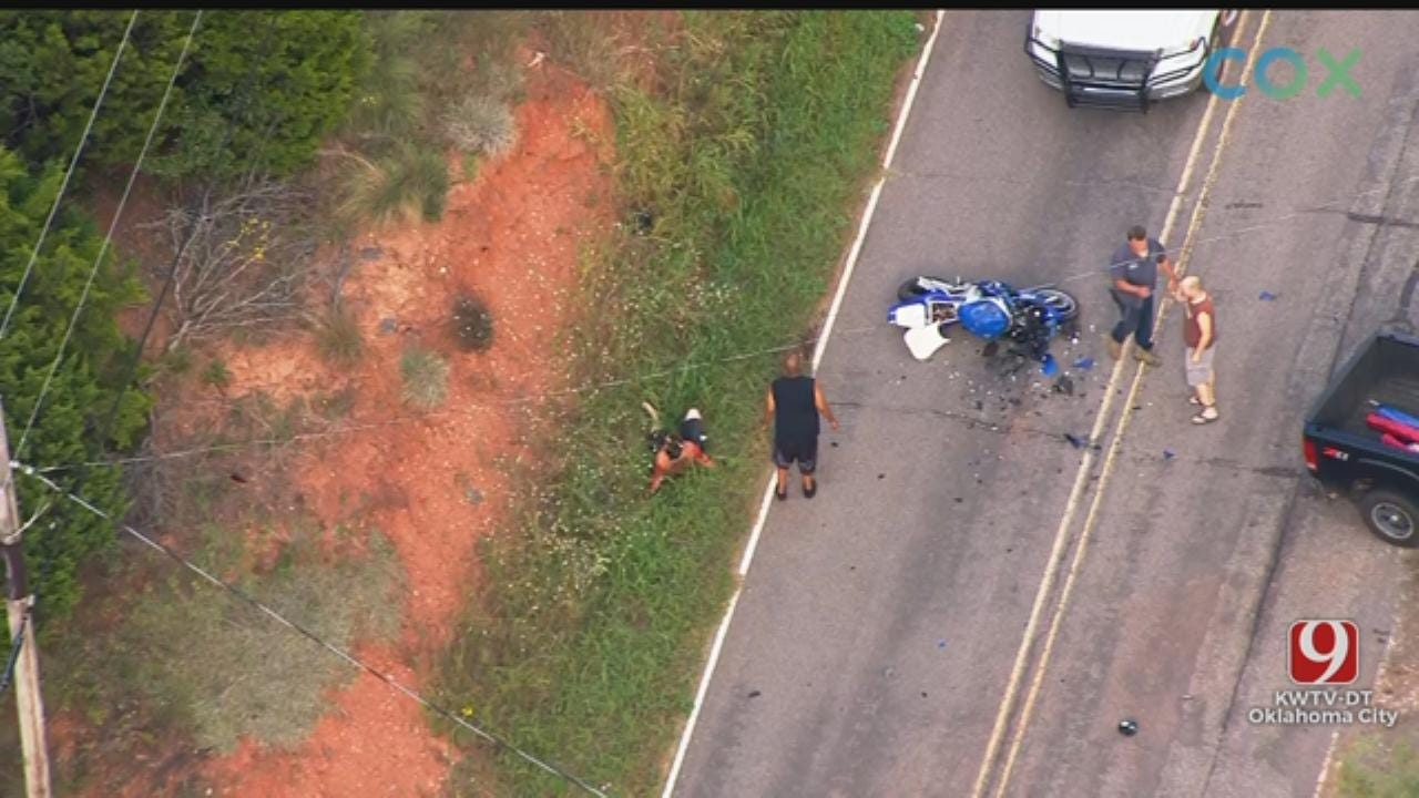 GRAPHIC WARNING: Civilians Help Stop Wild High-Speed Chase After Suspect Crashes In SE OKC