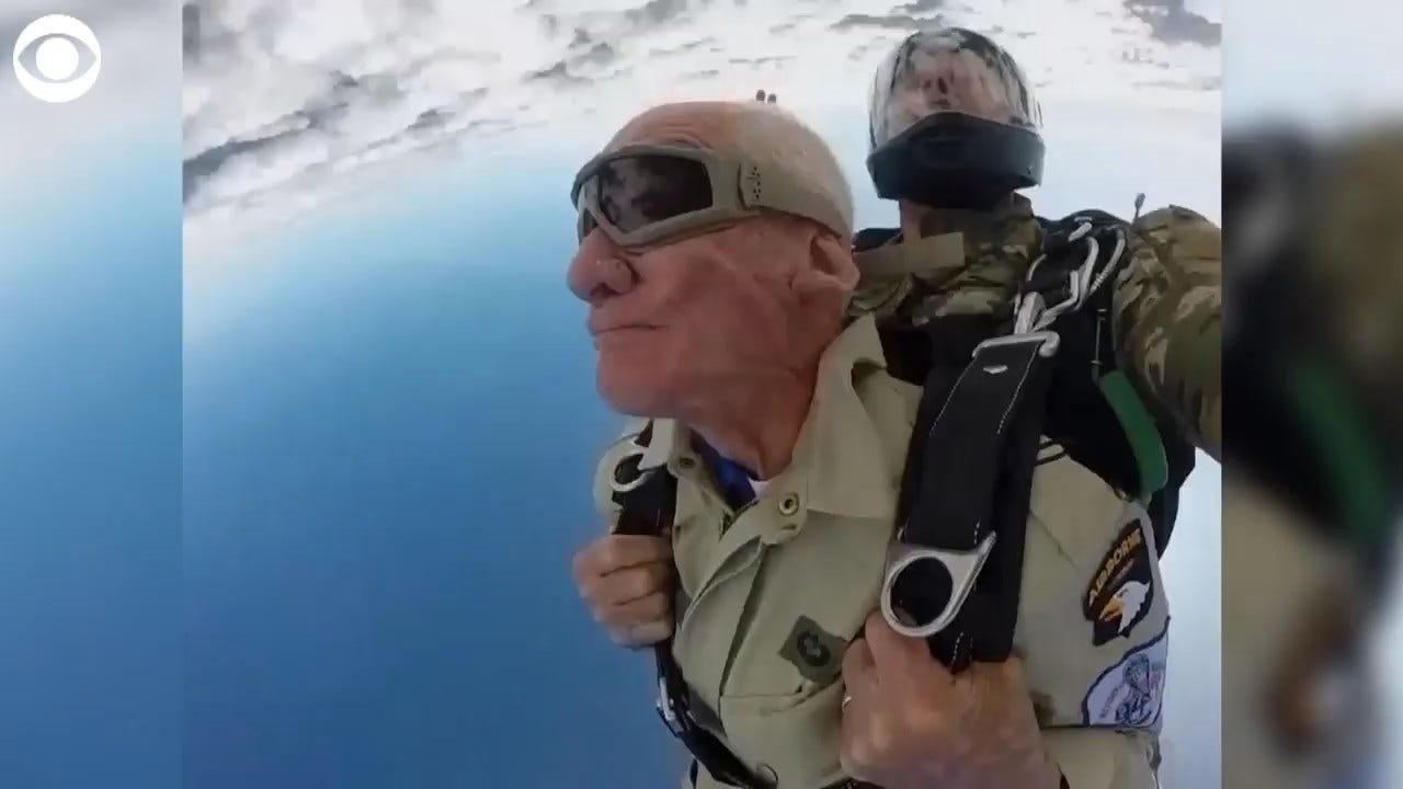 WATCH: 98-Year-Old WWII Veteran Jumps From Plane