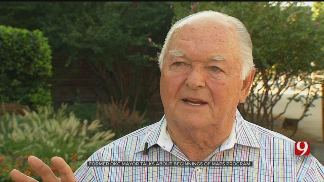 Former OKC Mayor Talks About Beginnings Of MAPS Program