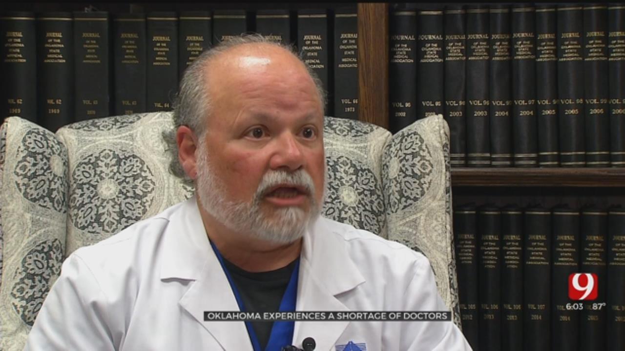 Doctor: Oklahoma Physician Shortage Is A 'Health Crisis'