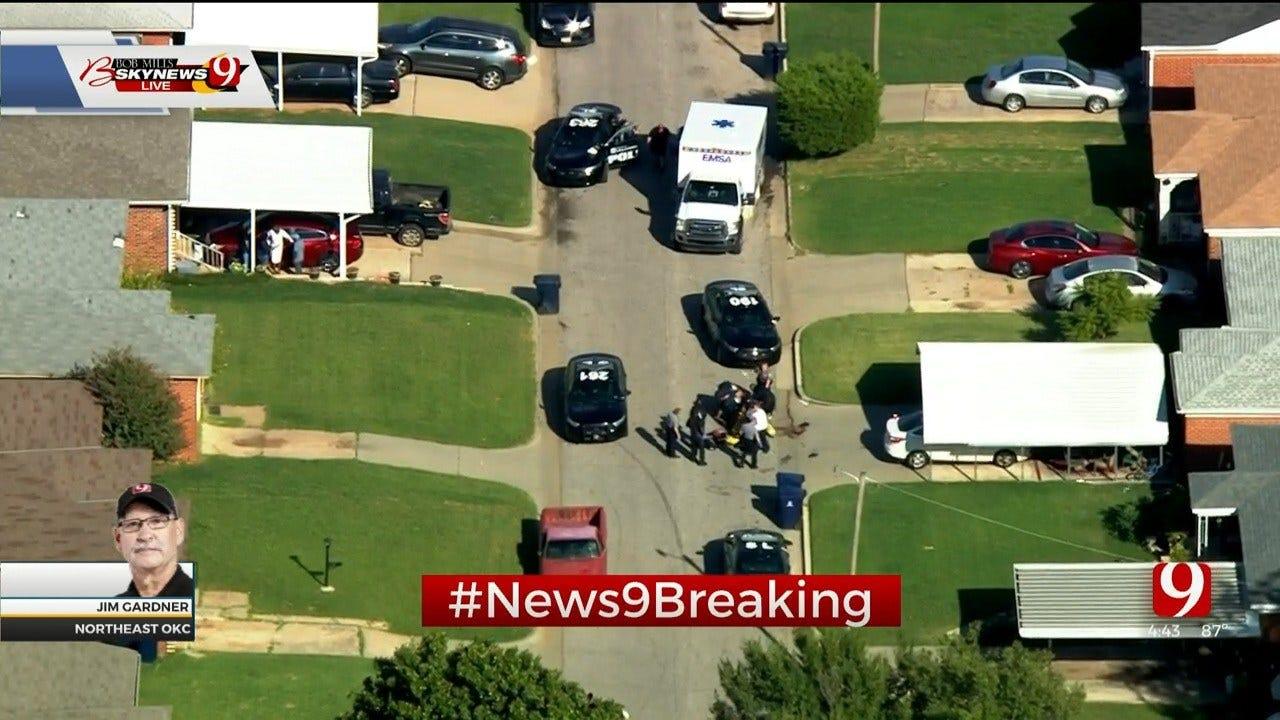 1 Injured In NE OKC Shooting