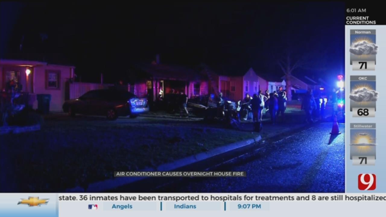 5 Escape Overnight NW Oklahoma City House Fire