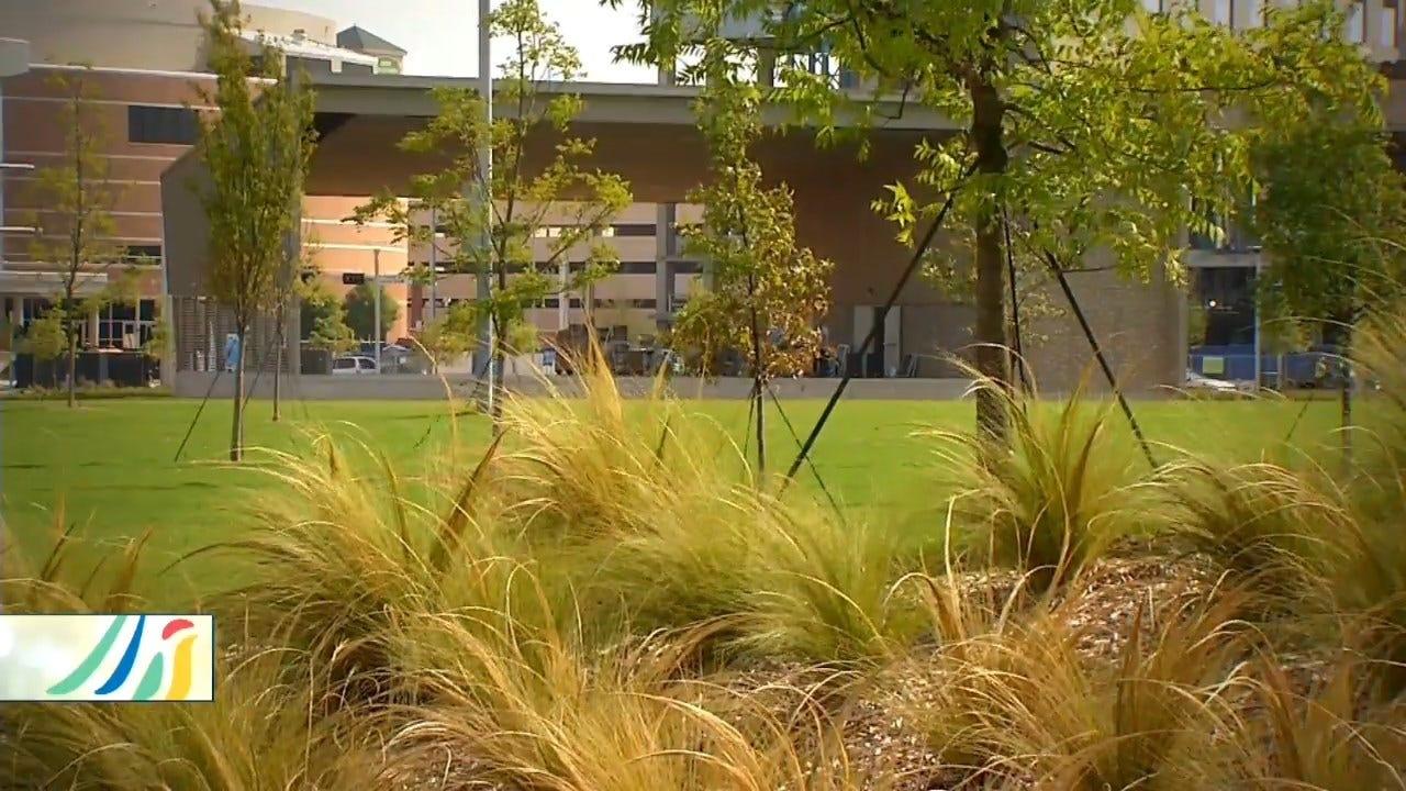 Caring For The Massive Landscape At Scissortail Park