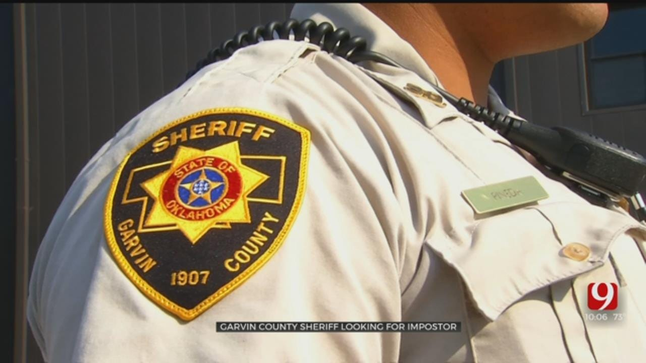 Garvin County Sheriff' Office, Lindsay Police Warn Public Of Possible Law Enforcement Impersonator