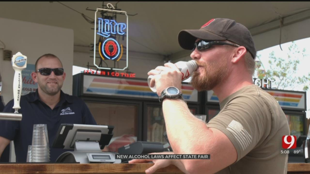 New Oklahoma Alcohol Laws Affect State Fair