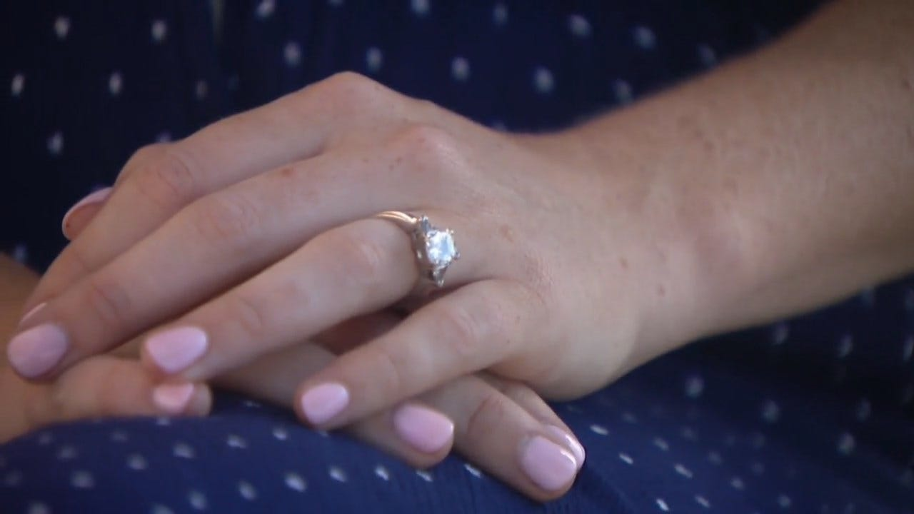 Woman Swallows Engagement Ring In Her Sleep