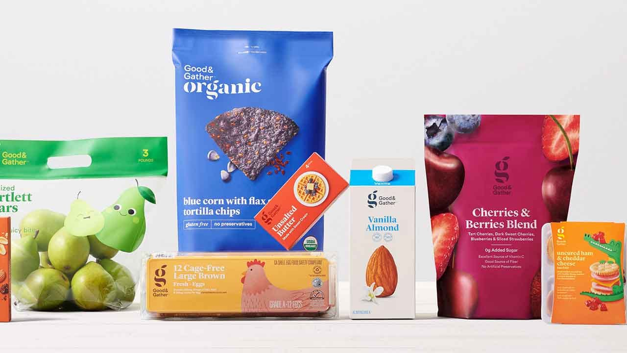 Target Debuts New 'Good And Gather' Food Brand