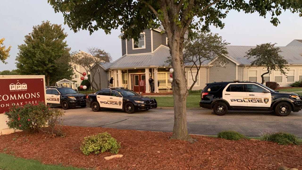 Suspect Detained After Reportedly Barricading Himself At Norman Apartment