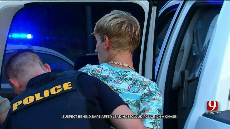 Suspect Taken Into Custody Following Foot Pursuit, Standoff In McLoud