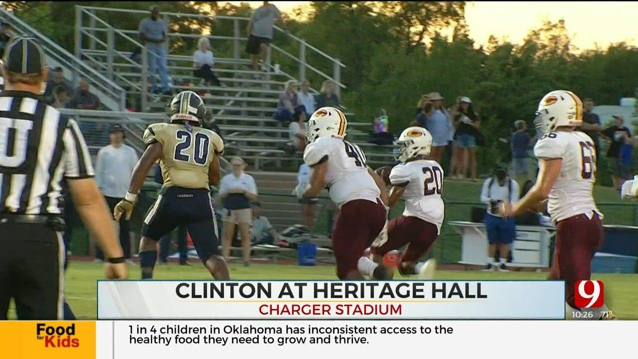 High School Football Roundup: Clinton Vs. Heritage Hall