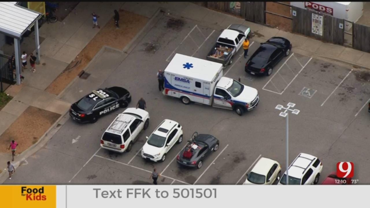 Stabbing Reported In NW OKC