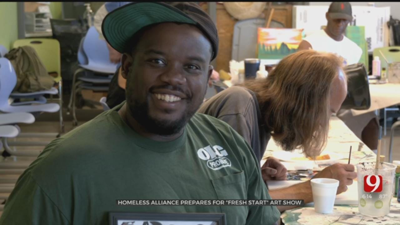 Homeless Alliance's 'Fresh StART' Program Prepares For Next Art Show