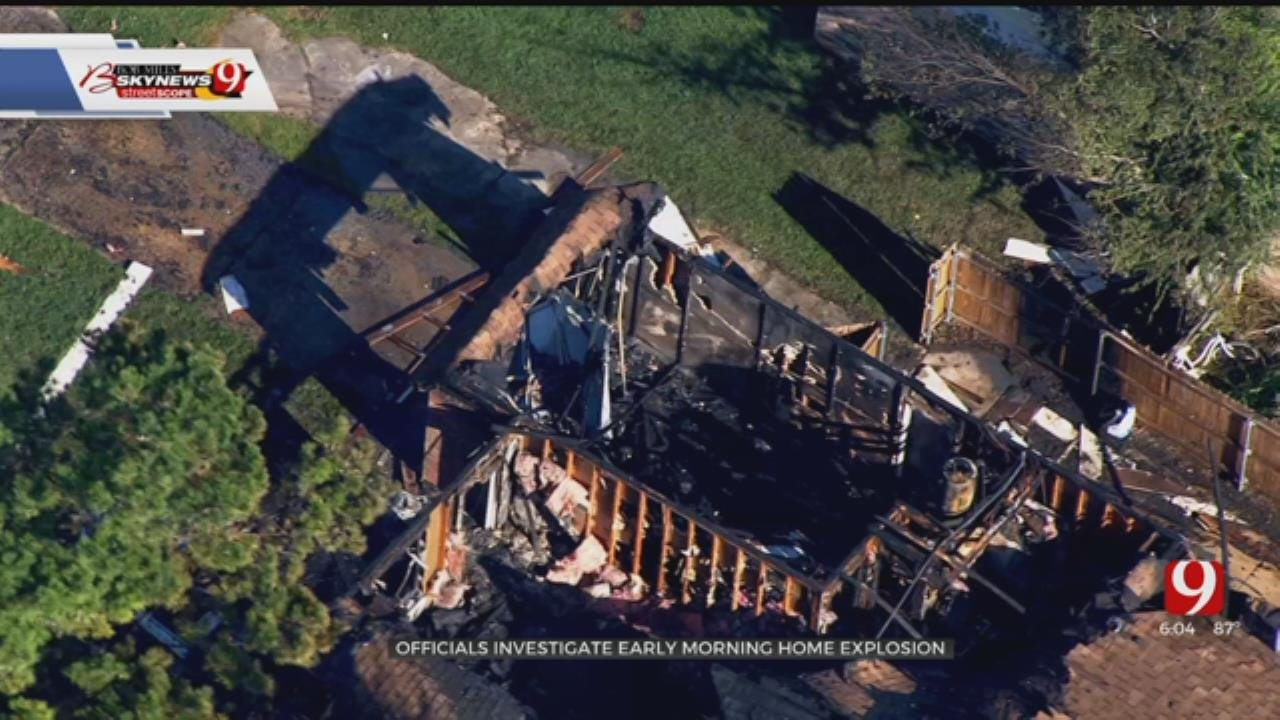 Fire Marshal's Office Investigating Tecumseh Home Explosion